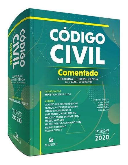 Código Civil Comentado - Cezar Peluso 2020 - 14ª Edição