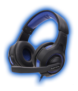 Microfono Kolke Con Auricular Kga-345 Negro/azul