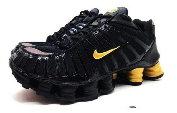 Tenis Masculino Nike Shox 12 Molas Lançamento Promoção 40% Off