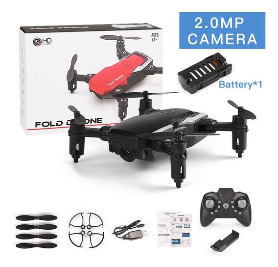 Lf606 Mini Drone Com Câmera 2.0mp Wifi Preto
