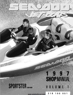 Manual De Reparacion Para 1997 Sea Doo Sportster Rotax 720