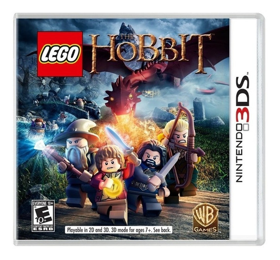 Lego The Hobbit 3ds Mídia Física Lacrado