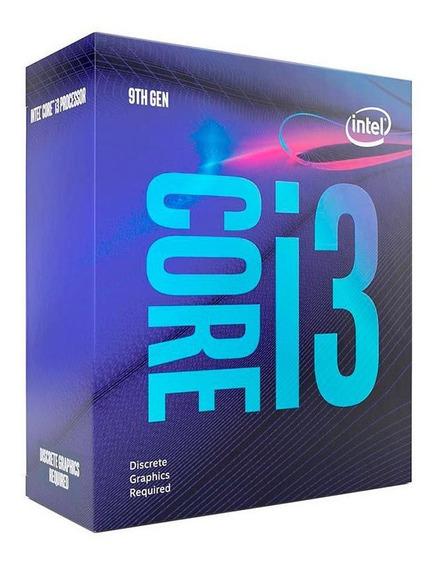 Processador Intel 1151 Lga Core I3-9100f 3.6ghz 6mb Lga