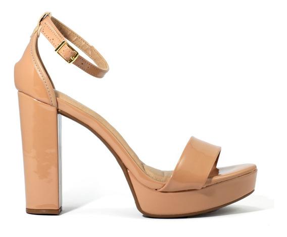 Zapatos Mujer Massimo Chiesa Sandalia Taco Palo By Beira Rio
