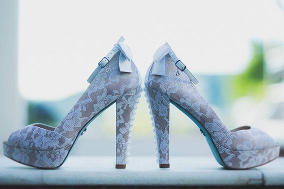 Sapato Peep Toe - Carmen Steffens