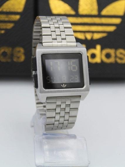 Relógio adidas Archives M1 Prata Original + Caixa