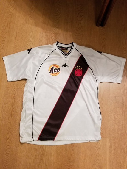 Camiseta Vasco Da Gama Kappa Temporada 2001
