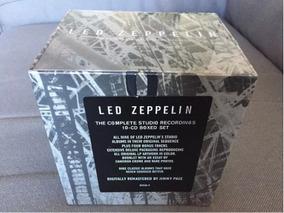 Cd Box Led Zeppelin Complete Studio 10cds Novo Frete Grátis
