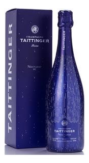 Estuche Champagne Taittinger Nocturne Sec X750cc Frances