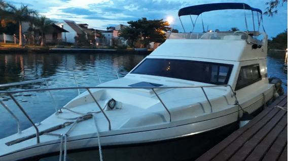 Lancha Intermarine, Oceanic 26, Volvop. 260hp,diesel 60horas