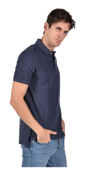 Polo Classic Fit Chaps Azul 750720402-30i6 Hombre