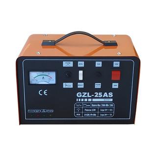 Cargador De Baterias Auto Kushiro 25 Amp Auto Stop 12/24v
