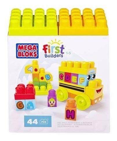 First Builders Ônibus Abc Dbk84 - Mega Bloks