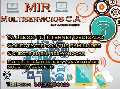 Internet Dedicado Para Empresas Y Hogares Zona Industrial
