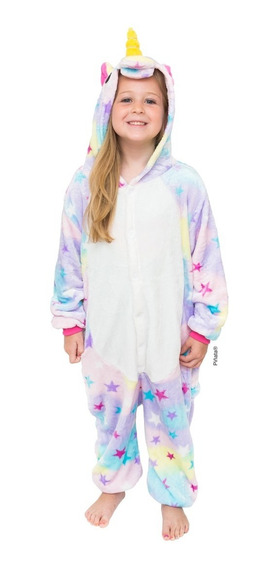 Unicornios Pijamas Enteros De Plush Niños Y Adultos