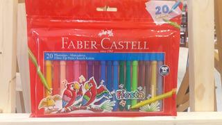 Faber Castell Marcador Fiesta X20