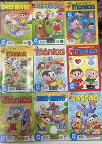 Lote 50 Gibis Revistas Variadas Turma Da Mônica