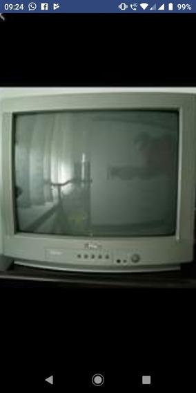 Tv Panasonic Prata 20 Polegadas.