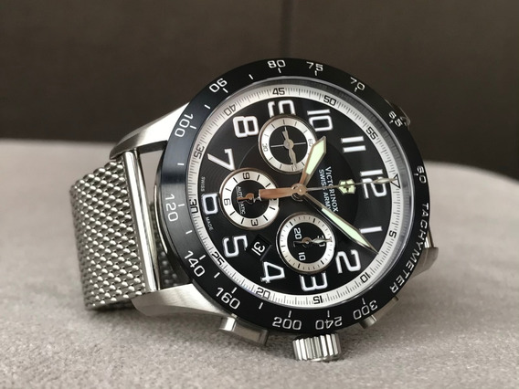 Relógio Victorinox Airboss Mach 6 Chrono Automatic 241447