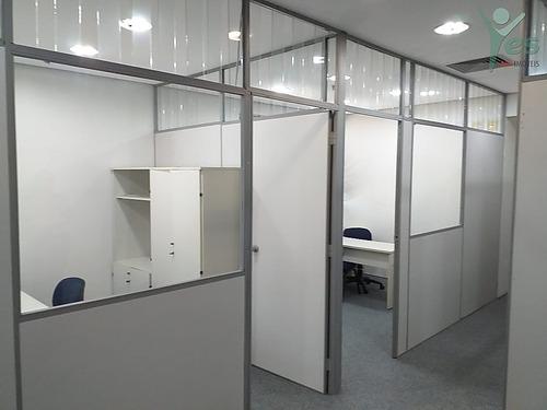 Imagem 1 de 19 de Ref.: 8016 - Sala Comercial,  100 M², 3 Wcs , Centro Santo André - 8016
