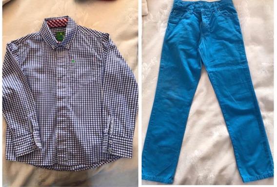 Camisa Y Pantalón Niño Arturo Calle