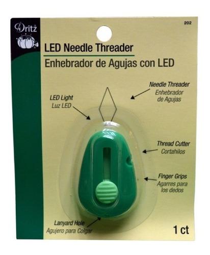 Enhebrador De Agujas Con Luz Led - Dritz P202