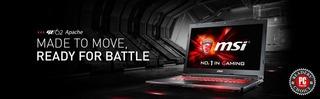 Lap Top Gamer Msi Ge62 2qd Apache Pro