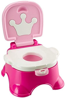 Vasenilla Niñas Fisher-price Stepstool Potty, Pink Princess