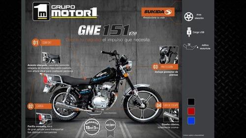 Moto Sukida Gne 151cc Utilitaria Año 2020