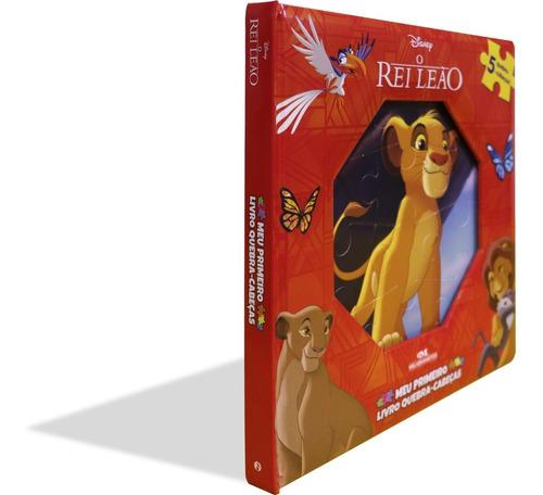 Imagem 1 de 4 de O Rei Leão  Meu Primeiro Livro Quebra-cabeças