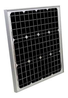 Placa Painel Célula Energia Solar Sun Home M6-30 30w Mono