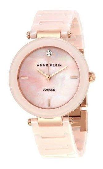 Relógio Anne Klein 1018 Pmlp Feminino - Rosa