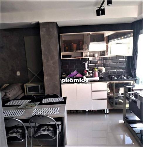Apartamento À Venda, 50 M² Por R$ 640.000,00 - Jardim Aquarius - São José Dos Campos/sp - Ap12937