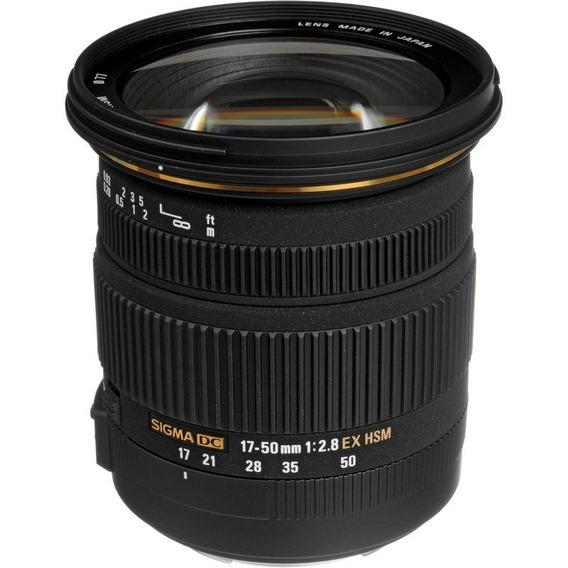Sigma 17-50mm F/2.8 Dc Ex Os Hsm Autofoco Canon Prta-entrega
