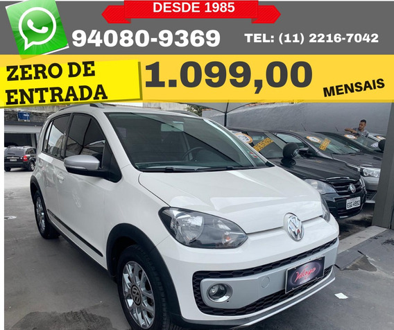 Volkswagen Up! 12v Tsi E-flex Cross 2017 Zero De Entrada