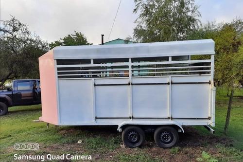 Vendo Trailer Para 3 Caballos O Permuto Por Camioneta