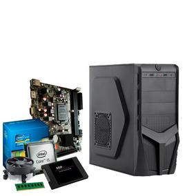 Pc Intel Core I5 3.3 Ghz, 8gb Ddr3, Ssd 120gb, Promoção