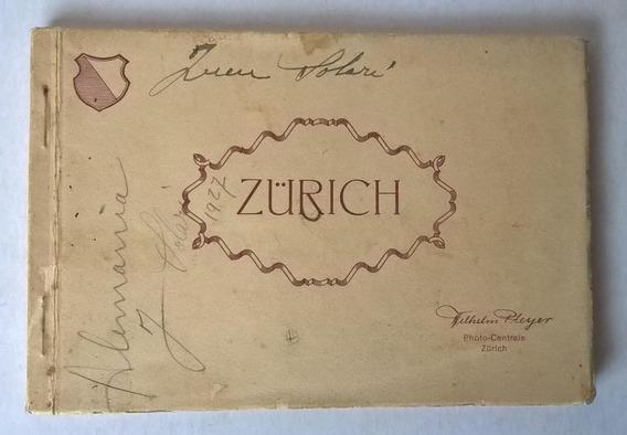 Album Tarjetas Postales Antiguas Zurich Década