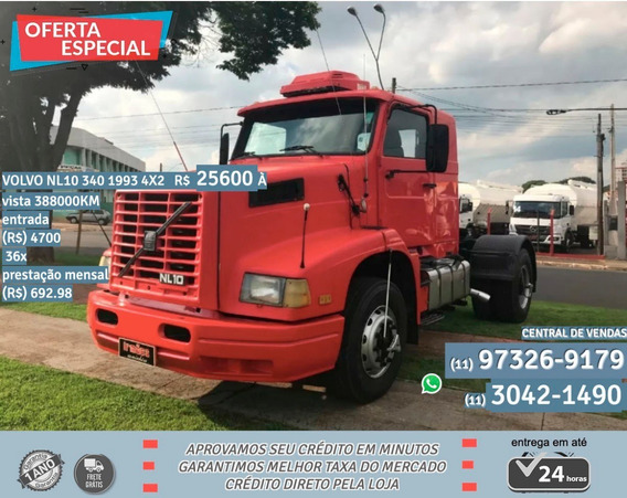 Volvo Nl 10 340 1993 Vermelho
