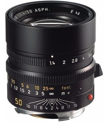 Leica Normal 50mm F/1.4 Summilux M Asph Lente 11891