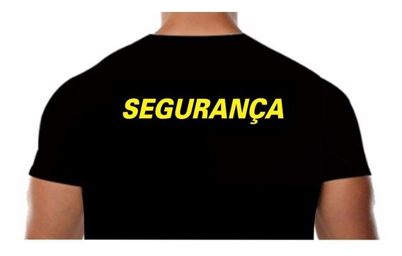 Camisetas Para Segurança Malha Fria Pv Manga Longa