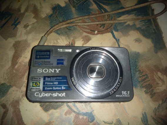 Câmera Fotográfica Sony Cyber-shot