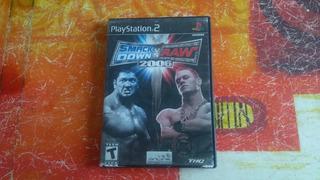 Smack Down Vs Raw 2006 Ps2