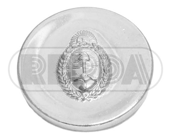 Hebilla Con Escudo Nacional Plateada Rerda
