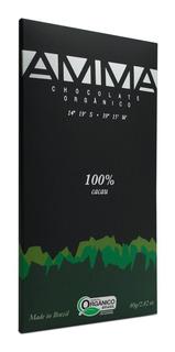 Amma Chocolate 100% Cacau Orgânico E Vegano - 80g