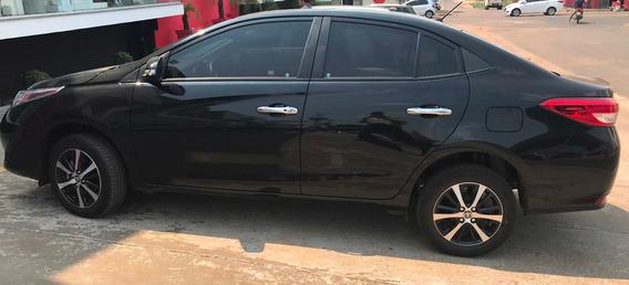 Toyota Yaris Sedã Xls Completíssimo, Modelo 2019, Carro Esta