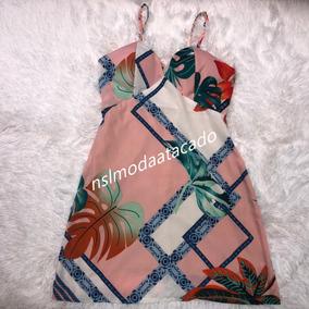 c98a4bb1c Vestido Tubinho Crepe Tam - Vestidos Casuais Femininas Rosa no ...