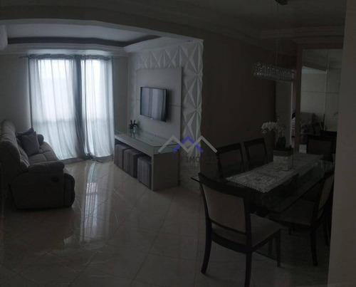 Imagem 1 de 22 de Apartamento À Venda, 100 M² Por R$ 605.000,00 - Retiro - Jundiaí/sp - Ap1742