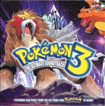 Cd Pokémon 3 Spell Of The Unown Nintendo Pikachu Filme Anime