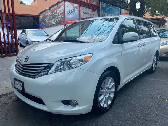 Toyota Sienna 2014 Limited Unica Dueña Factura Original